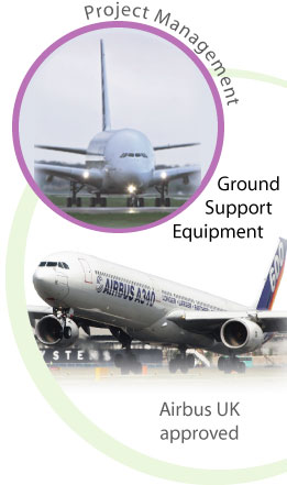 Precision Profiles Manufacturing Division is an Airbus UK approved dealer and a specialist in ground support equipment